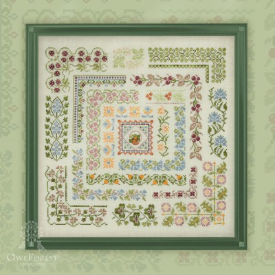 "Embroidery kit ""Northern Summer"""