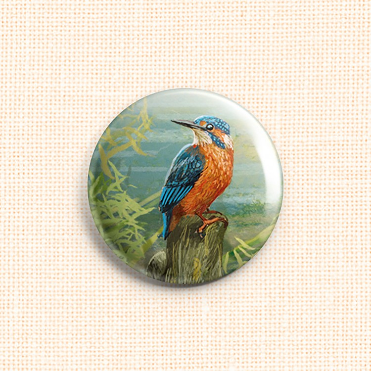 "Magnet Needle Minder ""Kingfisher"""