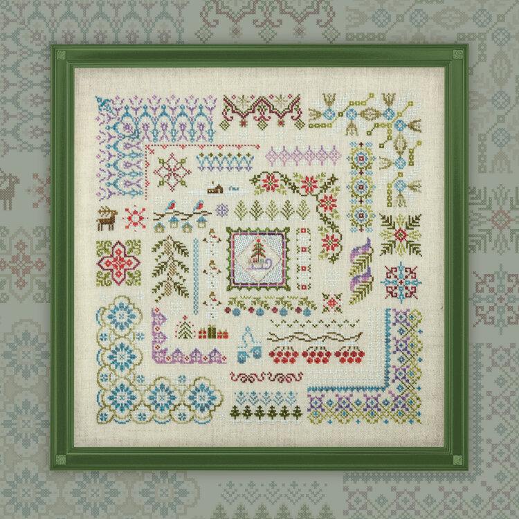 Набор для вышивания «Зимушка-зима» – Owlforest Embroidery
