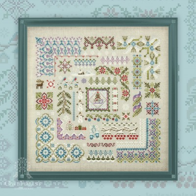 "Embroidery kit ""Snowy Winter"""