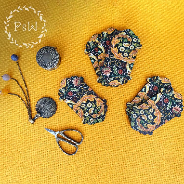 Бобинка «Гобелен Уильяма Морриса» – Owlforest Embroidery