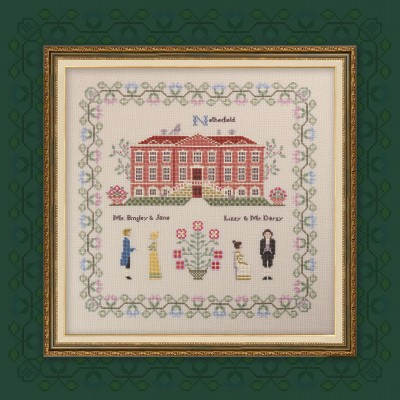 "Digital embroidery chart ""Pride and Prejudice. Part two. Netherfield."""