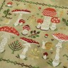 "Digital embroidery chart ""Fly Agarics"""