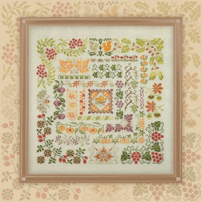 "Embroidery kit ""Bounteous Autumn"""