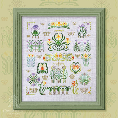 "Embroidery kit ""Prince Daffodil"""