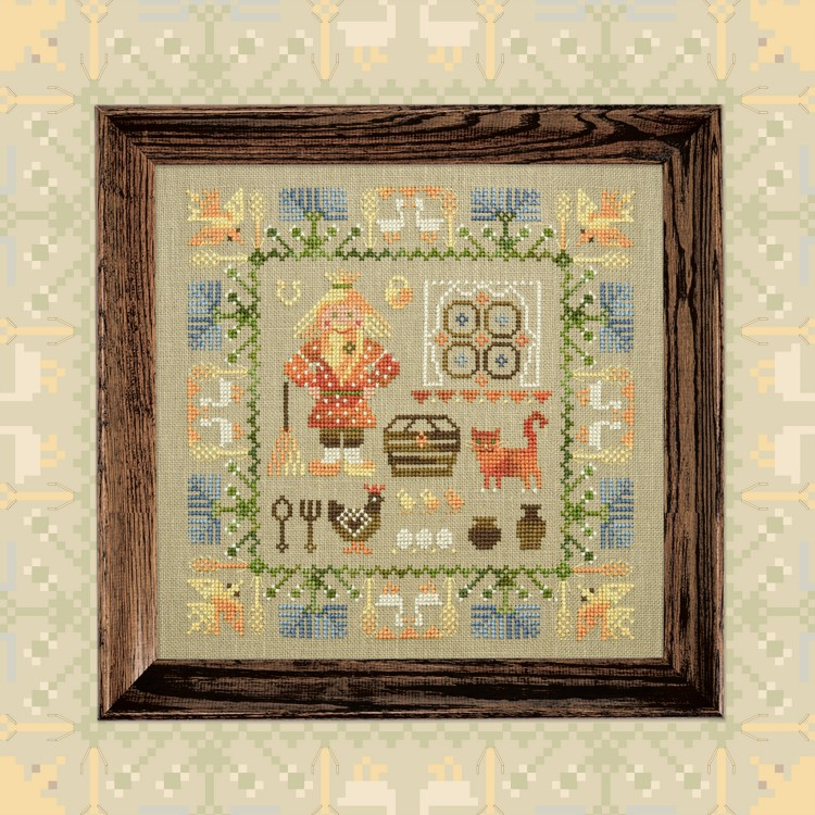 "Embroidery kit ""Domovoy"" or ""House Spirit"""