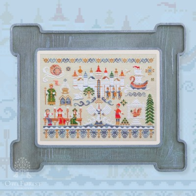 "Embroidery kit ""The Tale of Tsar Saltan"""