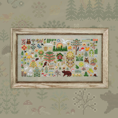 "Embroidery kit ""Enchanted Forest"""