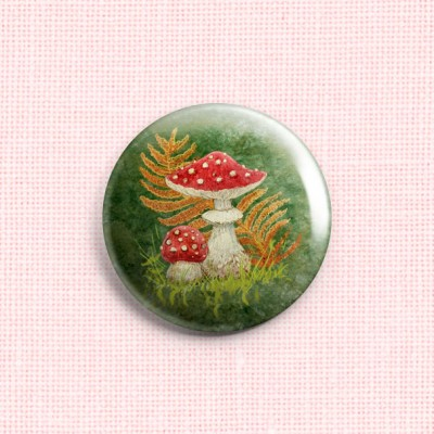 "Needle Minder ""Fly agarics"""