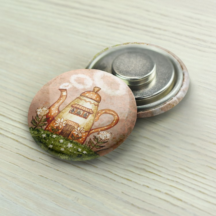 "Magnet Needle Minder ""Coffee Pot"""