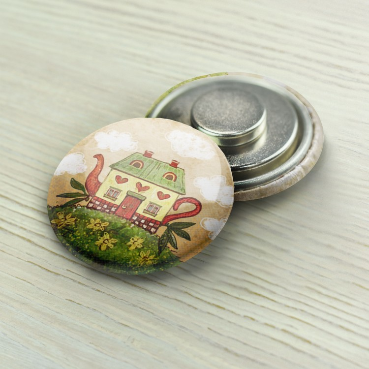 "Magnet Needle Minder ""Tea Pot"""