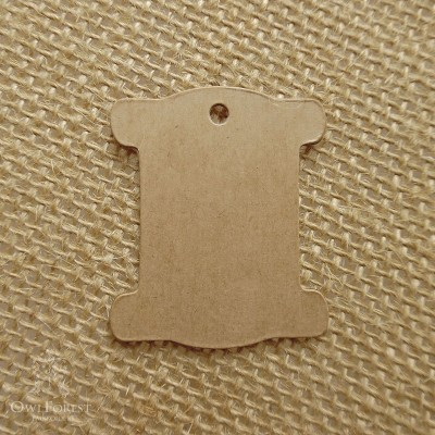 Solid Cardboard Thread Bobbins - 50