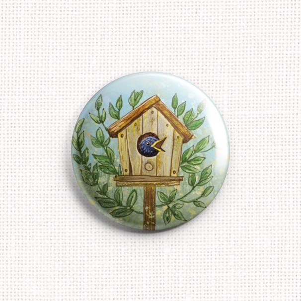 "Needle Minder ""Starling House"""