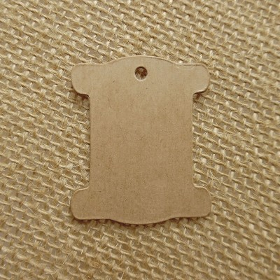 Solid Cardboard Thread Bobbins - 100