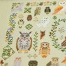 "Embroidery kit ""100 Owls"""